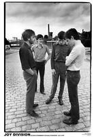 """JOY DIVISION POSTER """"OUTSIDE STRAWBERRY STUDIOS STOCKPORT 1979"""""""