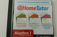 Holt McDougal Algecra 1 concepts & skills at home tutor Cd Rom Houghton Mifflin