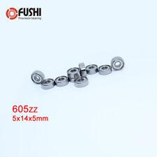 605Zz Bearing 10Pcs 5x14x5 mm Abec-5 Miniature 605 Z Zz Ball Bearings 605-2Z