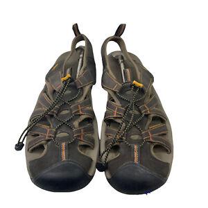 Keen Kanyon Men's Sandal Size 13 Brown Orange 1002133 River Water Shoes