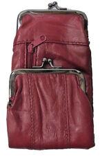 (1) Light Burgundy Lamb Skin Leather Cigarette Case Fits 100's/120, 3212ZLTBURG