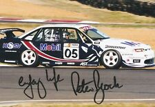 Peter Brock SIGNED 6x4 PHOTO PRINT V8 Supercars HOLDEN BATHURST 05 MOBIL