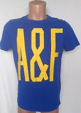 Abercrombie & Fitch Blue Short Sleeve Men's T-Shirt Size:M Muscle 100% Cotton