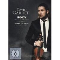 "DAVID GARRETT ""LEGACY-LIVE IN... DVD DELUXE EDT NEU"
