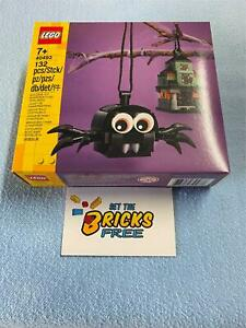 Lego Halloween Exclusive 40493 Spider & Haunted House New/Sealed/Hard to Find