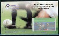 Bund Sport Markenheftchen 2003 mit MiNr. 2324 postfrisch MNH Fußball (E553