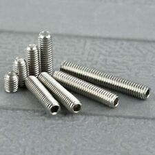 50Pcs Metric M3 Srew Bolt Nut Stainless Steel Hex Socket Cup Points Grub Screws