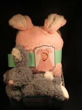 Baby Little Miracles Animal Hugs Collection Bunny Rabbit Blanket & Plush Bunny N