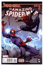 1)AMAZING SPIDER-MAN v3 #11(2/15)GWEN/NOIR/SILK/HAM/MILES MORALES(CGC IT)9.6/HOT