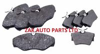 FOR RENAULT TRAFIC (01-) 1.9 2.0 2.5 DCi FRONT AND REAR BRAKE DISC PADS SET NEW