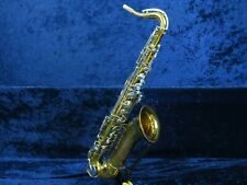 King Cleveland 615 Tenor Saxophone Ser#507515 Good Player Needs Pad Re-seat