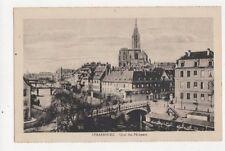 Strasbourg Quai des Pecheurs Vintage Postcard 399a