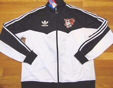 ADIDAS NCAA BOWLING GREEN STATE FALCONS SUPERSTAR TRACK JACKET SIZE S