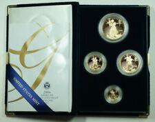 2004 American Eagle Gold Proof 4 Coin Set AGE in Box w/ COA