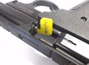 SAFE Bore FLAG Caliber Chamber Clear Indicator Flag .22 9mm 12 rifle IPSC range