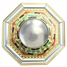 Chinese Oriental Feng Shui  Protection Home House Bagua Convex Mirror Solar Term