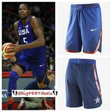 $150 Nike XXL USA Olympic Basketball Blue AUTHENTIC Game Shorts NBA KD Lebron