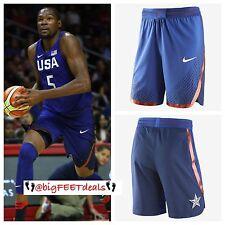 $150 Nike XXL USA Olympic Basketball Blue AUTHENTIC Game Shorts NBA KD Lebron