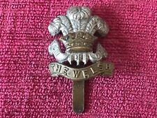 WW2 The Welch Regiment Bi Metal Cap Badge Original British Army Military 49/4