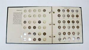 1892-1916 US Barber Silver Dime 43 Coin Starter Set w/ Littleton Book C1412