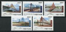 Vietnam Bridges Stamps 2019 MNH Bridge Architecture 5v Set
