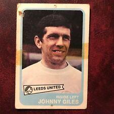 1968/69 A&BC Footballer Set JOHNNY GILES #81 LEEDS UNITED
