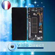 Vitre tactile + écran LCD sur chassis pour Samsung Galaxy Note 8 N950F noir