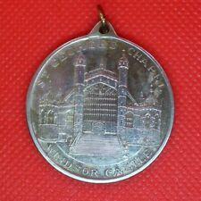 Charles Diana large royalty medallion 1981 Windsor Castle