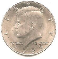 1983 P  Kennedy Half Dollar - AU