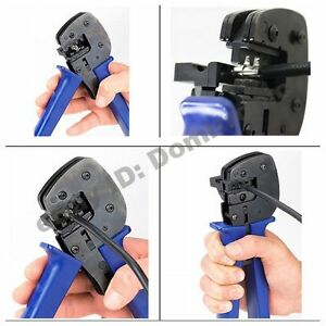 Solar Photovoltaic Cable Riveting Pliers Hand Crimping Tools Solar System Tools