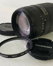 Tamron 75-300mm F/4-5.6 Tele-Macro 1:3.9 Lens For Canon EF Mount with UV Filter