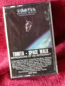 Rare ~ New/factory sealed ~ Tomita ~ Space Walk cassette RCA 1984