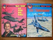 Les aventures de Buck Danny tomes 43-44, Charlier, Bergese, Novedi EO 1986-1988