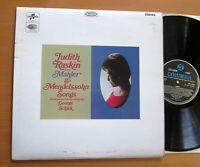 SCX 6132 Judith Raskin Sings Mahler & Mendelssohn Songs EXCELLENT Columbia EMI