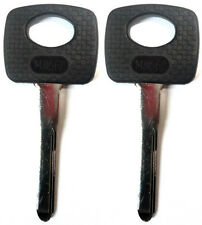2 NEW MERCEDES-BENZ HIGH SECURITY IGNITION KEY BLANK - FIT MANY MODELS S50HF-P