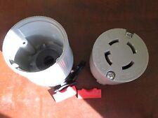 Arrow Hart Receptacle 6524 30 A 250 V 3 Ph 3 Pole 4 Wire