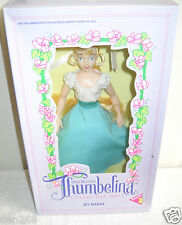 #8628 RARE NRFC Vintage Dakin Don Bluth Thumbelina Collector Doll