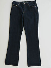 Women's Ralph Lauren Jeans Co. Dark Blue Boot Cut Stretch Denim Jeans 4 X 30