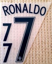 Portogallo away Camicia 2016-17 RONALDO #7 CALCIO NOME E NUMERO KIT SET