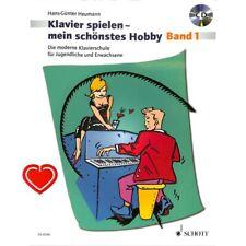 Klavierspielen - mein schönstes Hobby Band 1 - Klavierschule für Jugendliche und