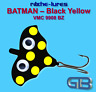 Cicaden, Batman Black - Yellow, Kunstköder RIBCHE LURES, VMC 9908 BZ 4g - 20g.