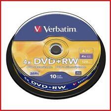 DVD-RW in spindle/cake box per l'archiviazione di dati informatici