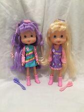 Strawberry Shortcake Candy Pop Dolls Rainbow Sherbet And Angel Cake