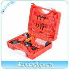 16x Hand Held Vacuum Pressure Pump Tester Set Brake Fluid Bleeder Bleeding Tools