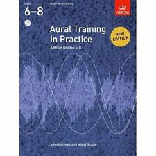 Aural Training in Practice ABRSM Grades 6-8 With 3 CDs 9781848492479 Scaife