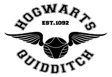 Harry Potter Quidditch  Decal / Sticker