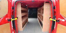 FORD Custom Van LWB Van Plywood Triple Racking Drill/Service Case Deep Storage