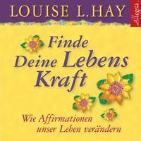 RAHEL COMTESSE - LOUISE L.HAY: FINDE DEINE LEBENSKRAFT  CD NEW