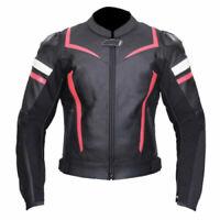 Ladies Racing Biker Motorbike Leather Jacket Motorcycle Leather Jackets CE