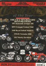 Royal Enfield Honda Norton Kawasaki MV Harley BMW Triumph 1/2011 Classic Bike